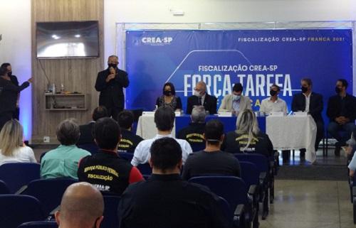 CREA-SP inicia fiscalização contra exercício ilegal da profissão na região de Franca