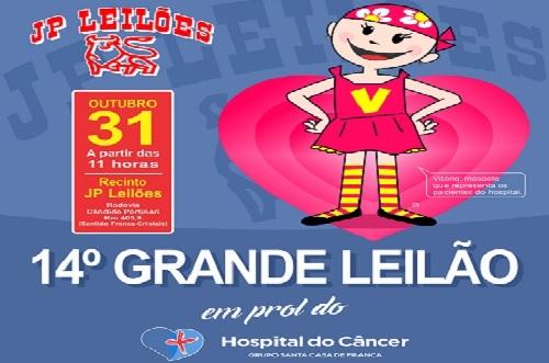 Hospital do Câncer de Franca realiza leilão beneficente