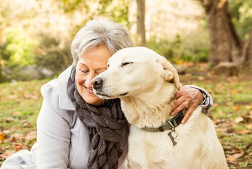 Residencial para idosos usa Pet Terapia para suprir afeto físico