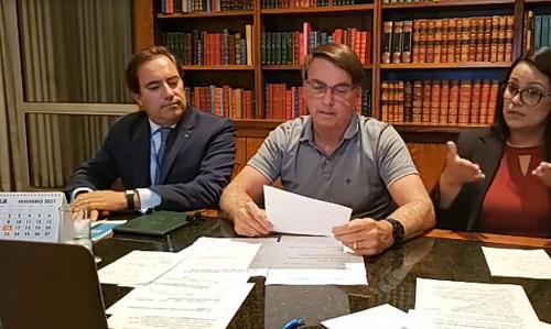 Bolsonaro: auxílio deve voltar em março, com parcelas de R$ 250