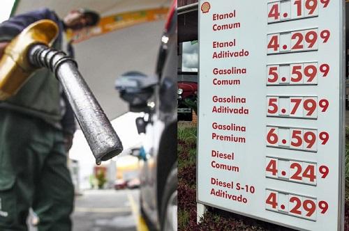 Francanos se revoltam com disparada de preços dos combustíveis