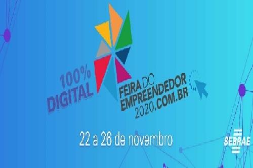 Sebrae anuncia Feira do Empreendedor 100% digital
