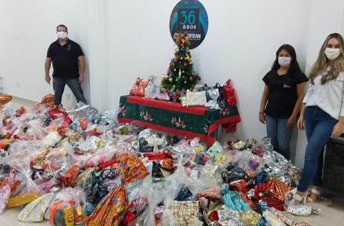 Assescofran arrecada mais de 1,7 mil brinquedos para 10 entidades; Veja!