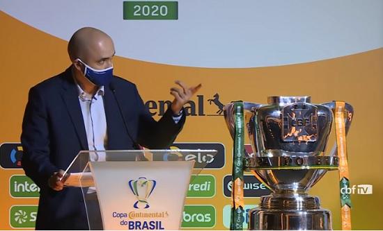 Definidos os confrontos da quarta fase da Copa do Brasil; Veja!