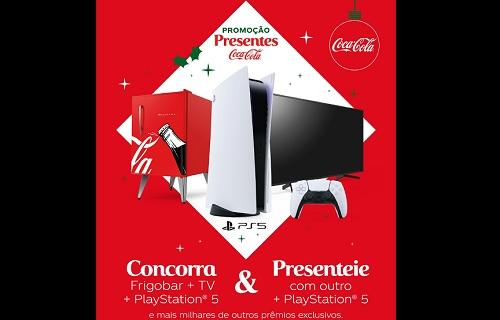 Coca-Cola se une à PlayStation para promoção de Natal