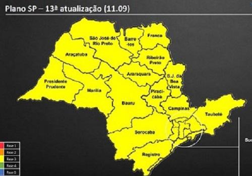Franca avança à fase Amarela do Plano São Paulo; VEJA!