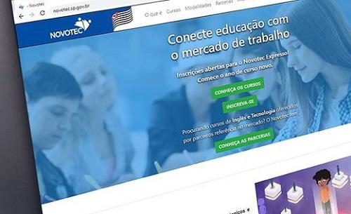 Novotec Expresso abre mais de 8 mil vagas em cursos gratuitos