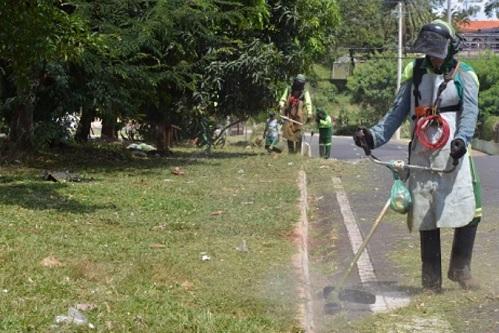 Serviços de limpeza são intensificados em várias avenidas em Franca