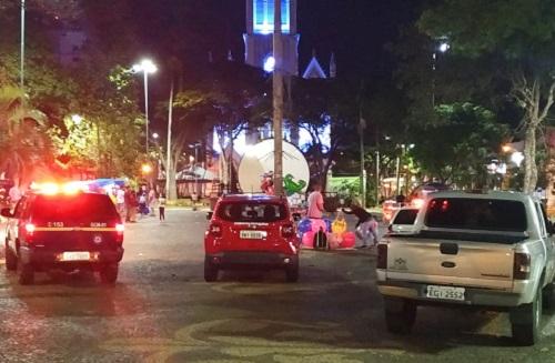 Guarda Civil e Vigilância são acionados para acabar com 'rolezinho' na Praça Matriz