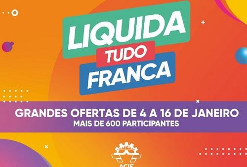 Acif lança 2ª edição da campanha 'Liquida Tudo Franca'