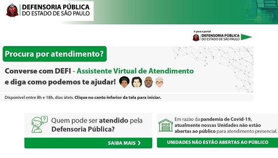 Defensoria Pública de SP lança novo sistema com assistente virtual