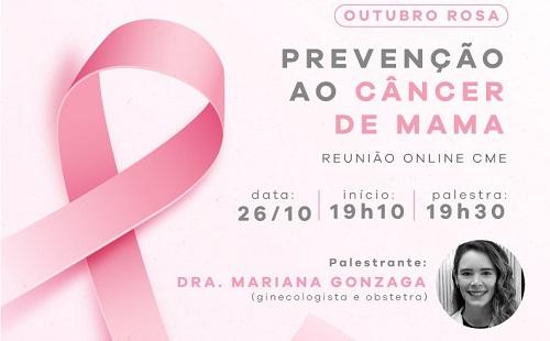 CME-ACIF e Unimed Franca promovem encontro online pelo 'Outubro Rosa'