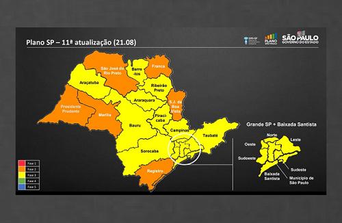 Região de Franca vai para fase laranja; comércio e shoppings poderão abrir com restrições