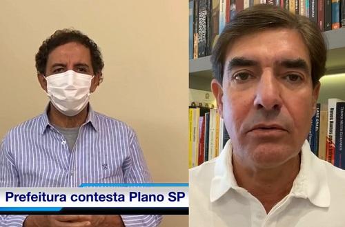 Gilson e Nogueira querem Franca e Ribeirão Preto na fase amarela; Veja!