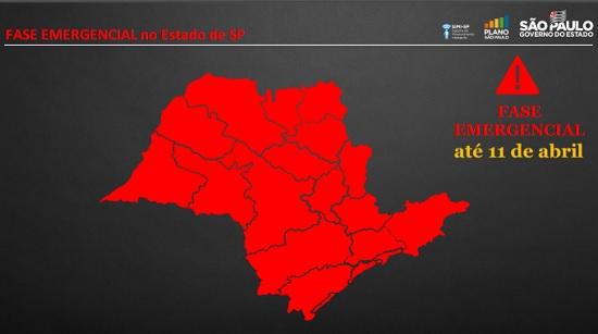 Fase emergencial vai até 11 de abril em SP;  Veja o que abre e fecha