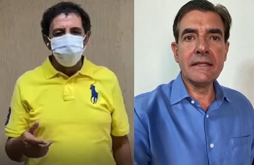 Gilson e Nogueira comemoram avanço para fase amarela no Plano SP; Veja!