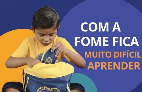 'Criança Nota10': LBV distribui 25 mil kits escolares e 30 cestas de alimentos