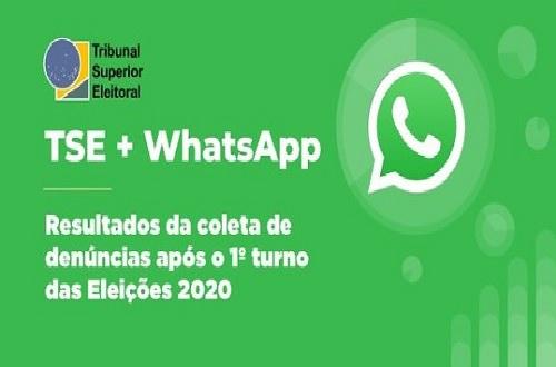 Whatsapp bane contas depois de denúncias do TSE