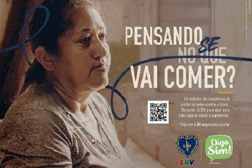 LBV lança campanha para arrecadar 85 mil cestas de alimentos no Brasil