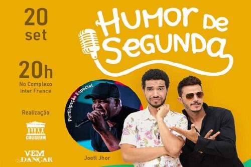 Evento 'Humor de Segunda' acontecerá em parceria com o Internacional Clube