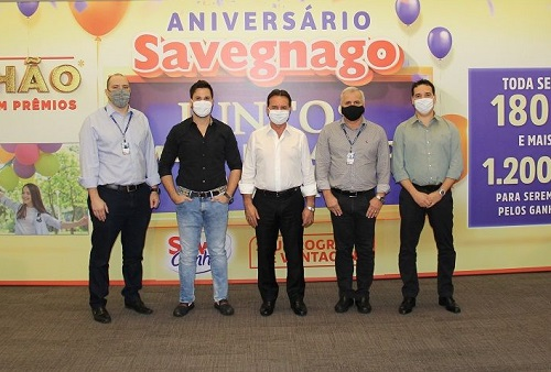 Savegnago distribuirá mais de R$ 1 milhão em prêmios em campanha de aniversário
