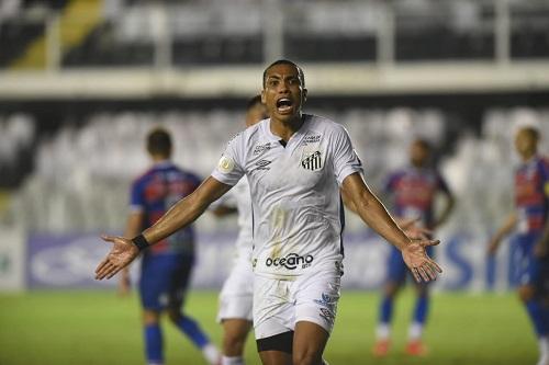Santos cede empate para o Fortaleza e perde a chance de entrar no G4