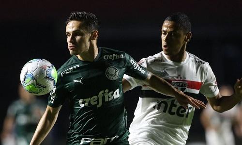 Palmeiras arranca empate e acaba com chances de título do São Paulo