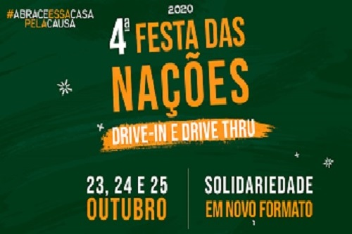 Iansa realiza 'Festa das Nações 2020' com Delivery e Drive Thru