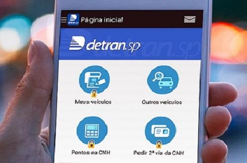 Atendimentos digitais do Detran SP batem 2 milhões em 2021