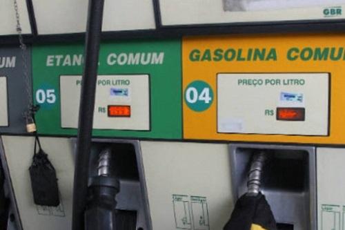 Preço médio da gasolina cai pela 2ª semana seguida nos postos
