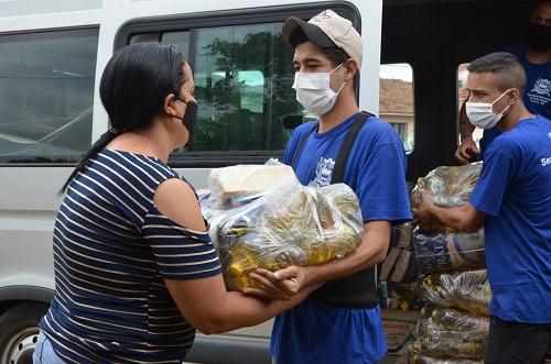 Distribuição de cestas básicas será encerrada neste sábado em Franca