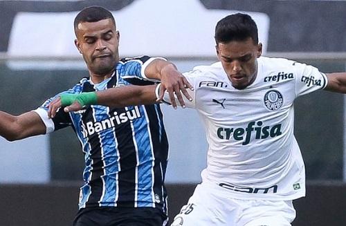 Palmeiras e Grêmio ficam no empate pelo Brasileirão