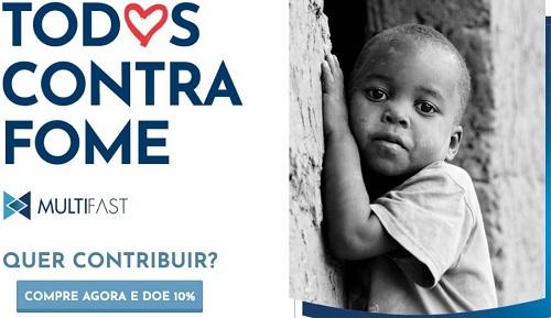 Site vai reverter 10% das vendas em cestas básicas para comunidades carentes