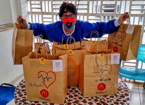 McDonald's doa 150 refeições em Franca na campanha McObrigado