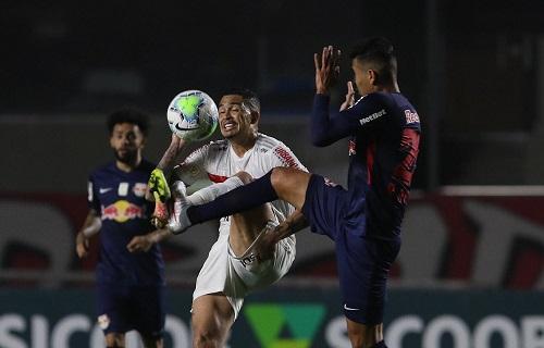 Bragantino perde dois pênaltis e empata com o São Paulo por 1 a 1