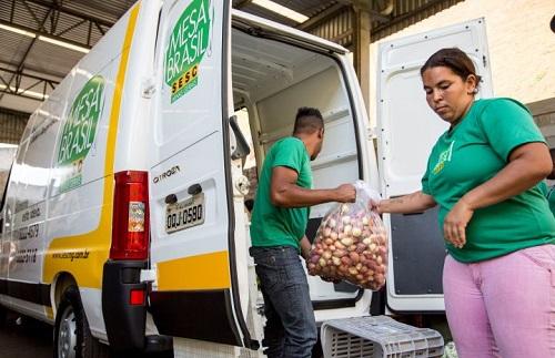 Mesa Brasil Sesc distribuiu mais de 5,4 mil toneladas de alimentos no país