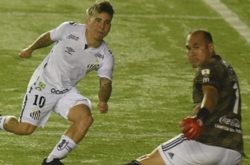 Santos FC empata com Olimpia em retorno da Conmebol Libertadores