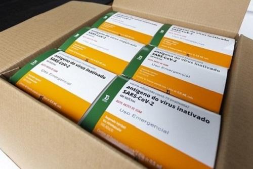 SP entrega mais 5 milhões de doses da vacina do Butantan ao Brasil